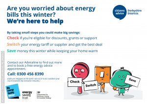 Citizens Advice Energy Saving Campaign